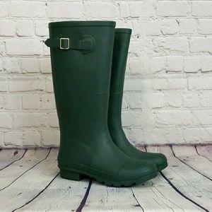 Nomad Hunter Green Rainboots Size 6